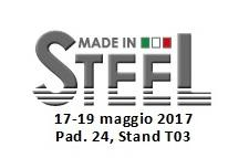 PARTICIPATION AU SALON MADE IN STEEL 2017
